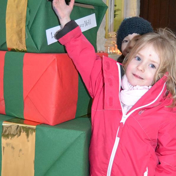 La boîte aux lettres du Père Noël